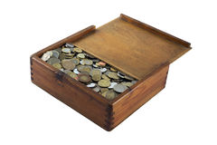Νομίσματα ποικιλίας στοκ φωτογραφίες