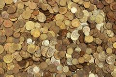 νομίσματα πολλά στοκ εικόνα με δικαίωμα ελεύθερης χρήσης