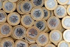 νομίσματα πραγματικά Στοκ Φωτογραφία