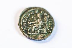 νομίσματα Ρωμαίος νομίσματα παλαιά σπάνιος ιστορικός Στοκ Εικόνες