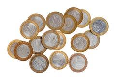 νομίσματα Ρωσία Στοκ Εικόνες