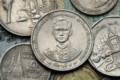 νομίσματα Ταϊλάνδη Στοκ φωτογραφίες με δικαίωμα ελεύθερης χρήσης