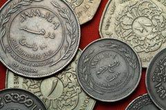 Νομίσματα της Ιορδανίας Στοκ εικόνες με δικαίωμα ελεύθερης χρήσης