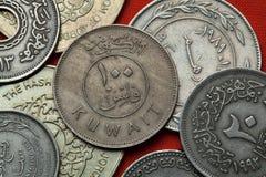 Νομίσματα του Κουβέιτ Στοκ εικόνα με δικαίωμα ελεύθερης χρήσης