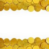 νομίσματα χρυσά Στοκ φωτογραφία με δικαίωμα ελεύθερης χρήσης