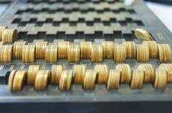 νομίσματα χρυσά Στοκ εικόνες με δικαίωμα ελεύθερης χρήσης