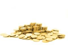 νομίσματα χρυσά Στοκ Φωτογραφία