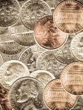 νομίσματα στοκ φωτογραφίες