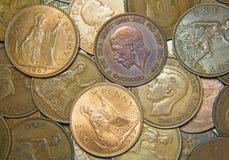 νομίσματα UK Στοκ φωτογραφία με δικαίωμα ελεύθερης χρήσης