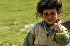 Νομαδικό οροπέδιο Ä°n Ερζερούμ παιδιών, Τουρκία Στοκ φωτογραφία με δικαίωμα ελεύθερης χρήσης