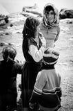 Νομαδικά παιδιά Στοκ εικόνα με δικαίωμα ελεύθερης χρήσης