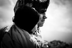 Νομαδικά παιδιά Στοκ Εικόνα