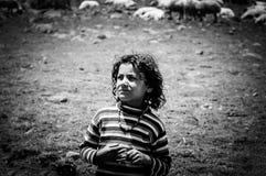 Νομαδικό παιδί Στοκ Εικόνα