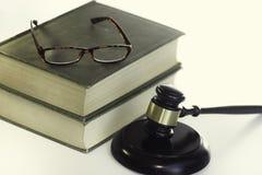 Νομική εικόνα έννοιας νόμου Στοκ Φωτογραφία