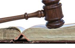 νομική παραγωγή απόφασης Στοκ Φωτογραφία