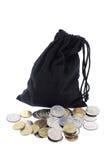 νομισμάτων τσαντών Στοκ Εικόνες