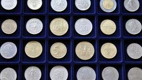 Νομισματική συλλογή νομισμάτων Στοκ φωτογραφία με δικαίωμα ελεύθερης χρήσης