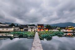 Νομός ¼ ŒYixian, επαρχία anhui, Κίνα της Hong villageï στοκ εικόνα