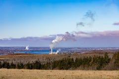 Νομός Νέα Σκοτία Pictou εγκαταστάσεων παραγωγής ενέργειας άνθρακα στοκ φωτογραφίες με δικαίωμα ελεύθερης χρήσης