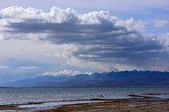 Νομός Kangrinboqe του Alvin στο Θιβέτ στοκ εικόνες