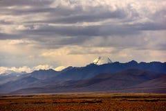 Νομός Kangrinboqe του Alvin στο Θιβέτ στοκ εικόνα με δικαίωμα ελεύθερης χρήσης