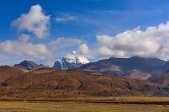 Νομός Kangrinboqe του Alvin στο Θιβέτ στοκ εικόνα
