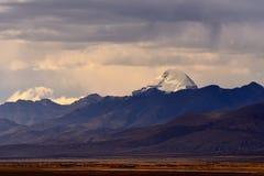Νομός Kangrinboqe του Alvin στο Θιβέτ Στοκ φωτογραφία με δικαίωμα ελεύθερης χρήσης