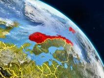 Νορβηγία από το διάστημα απεικόνιση αποθεμάτων