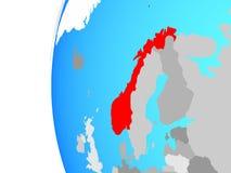 Νορβηγία στη σφαίρα απεικόνιση αποθεμάτων