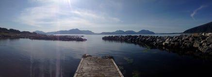 Νορβηγία fjortift στοκ εικόνες με δικαίωμα ελεύθερης χρήσης