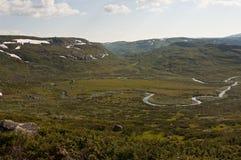 Νορβηγία, Hardangervidda Στοκ Εικόνα