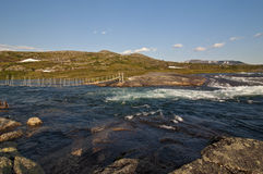 Νορβηγία, Hardangervidda Στοκ φωτογραφία με δικαίωμα ελεύθερης χρήσης