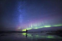 Νορβηγία Norther σε λεπτότερό του στοκ φωτογραφίες