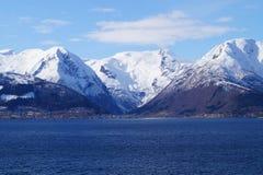 Νορβηγία sognefjord Στοκ εικόνες με δικαίωμα ελεύθερης χρήσης