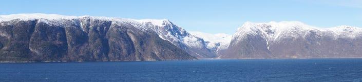 Νορβηγία sognefjord Στοκ Φωτογραφίες