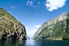 Νορβηγία sognefjord Στοκ φωτογραφία με δικαίωμα ελεύθερης χρήσης