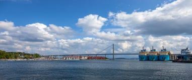 Νορβηγία Stavanger Στοκ φωτογραφίες με δικαίωμα ελεύθερης χρήσης