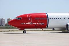 Νορβηγικές αερογραμμές Στοκ φωτογραφία με δικαίωμα ελεύθερης χρήσης