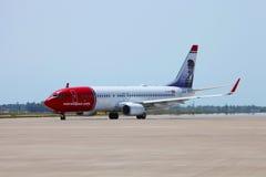 Νορβηγικές αερογραμμές Στοκ εικόνες με δικαίωμα ελεύθερης χρήσης