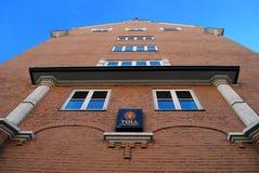 Νορβηγική έδρα τελωνειακών υπηρεσιών Στοκ Φωτογραφίες