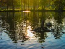 Νορβηγική λίμνη Στοκ εικόνα με δικαίωμα ελεύθερης χρήσης