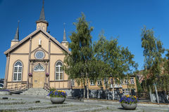 Νορβηγική εκκλησία Στοκ εικόνες με δικαίωμα ελεύθερης χρήσης