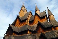 νορβηγική σανίδα εκκλησ&i στοκ εικόνα