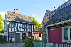 Νορβηγικό μουσείο της πολιτιστικής ιστορίας (λαϊκό μουσείο) Στοκ φωτογραφία με δικαίωμα ελεύθερης χρήσης