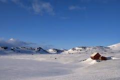 Νορβηγικό οροπέδιο Hardangervidda βουνών Στοκ εικόνα με δικαίωμα ελεύθερης χρήσης