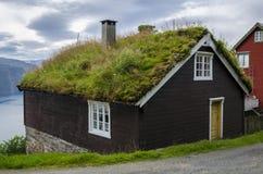 Νορβηγικό σπίτι Στοκ Εικόνα