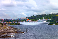 Νορβηγικό τοπίο Στοκ φωτογραφία με δικαίωμα ελεύθερης χρήσης