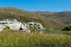 Νορβηγικό τοπίο Στοκ Φωτογραφίες