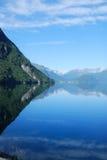 Νορβηγικό φιορδ Στοκ Εικόνες