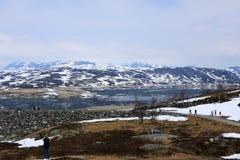 Νορβηγικό Clacier Στοκ εικόνα με δικαίωμα ελεύθερης χρήσης